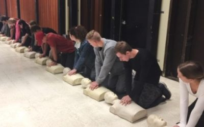 CPR Training at San Clemente High