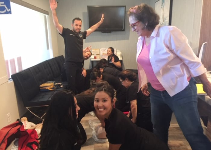 BLS Healthcare CPR Class - CPR Chicks - 700 X 500 - 2
