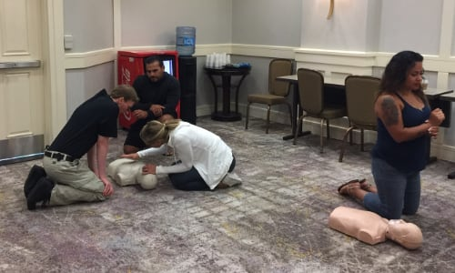 CPR Training Hilton Doubletree in Mission Valley - 4 - CPR Chicks