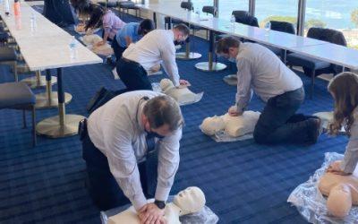 CPR Class for Sheraton Hotel & Marina