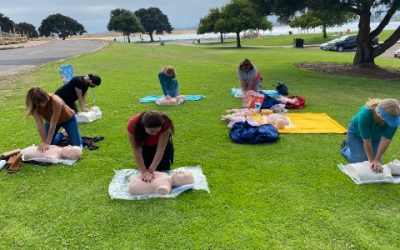 CPR IN THE PARK!
