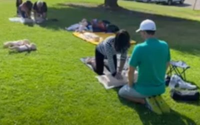 Summer CPR Class in the Park